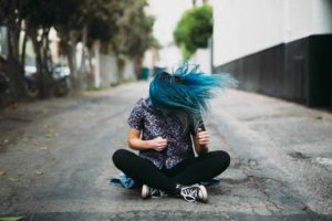 The Story of Blue Hair